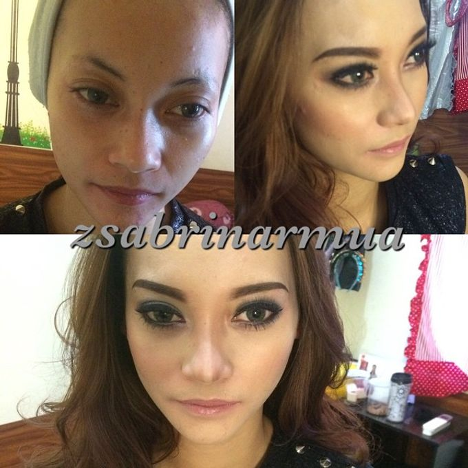 Before after by zsabrinar Makeupartis - 001