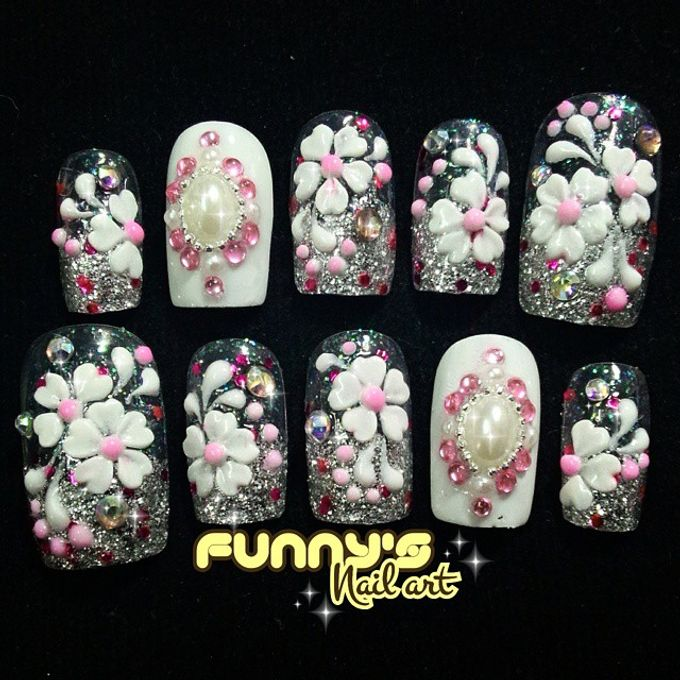 Thanks May 2015 by Funny's Nail art - 002