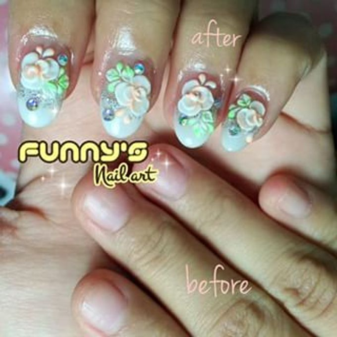 JULY by Funny's Nail art - 008