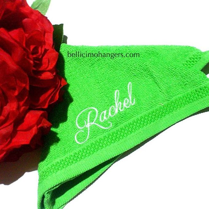 Bridesmaids Essentials - Embroidery Handkerchief by Béllicimo Personalized Hanger & Favors - 002