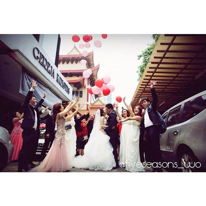 The Wedding of Cellvin & Kezia by FIVE Seasons WO - 008