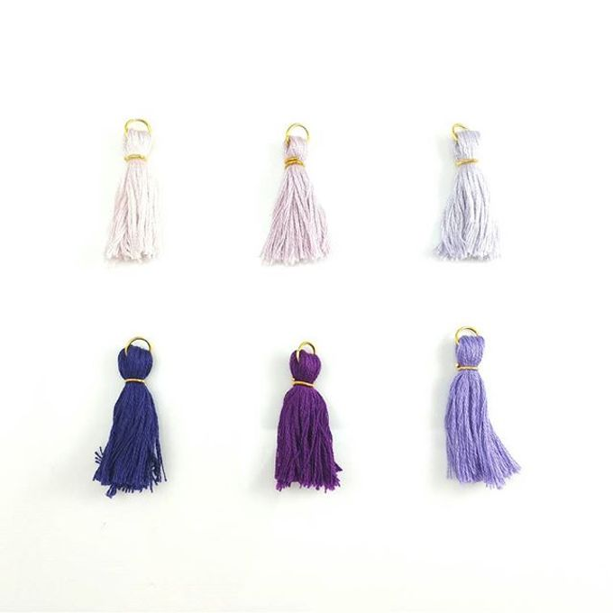 Customized Tassel Necklaces by Laurel Town - 002