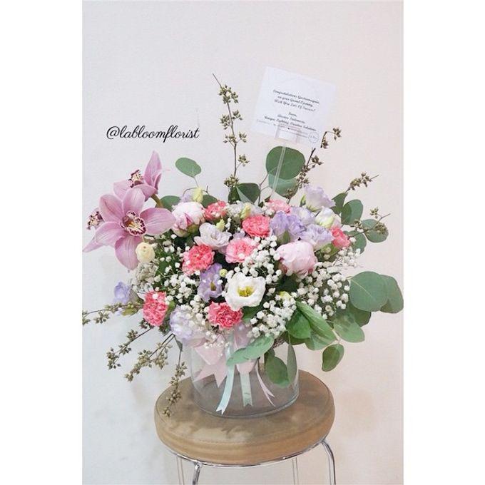 Pinterest inspired bridal bouquet by La Bloom Florist - 007