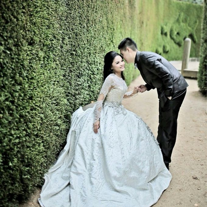 Prewedding hair and makeup by Elly Liana Makeup Artist - 006
