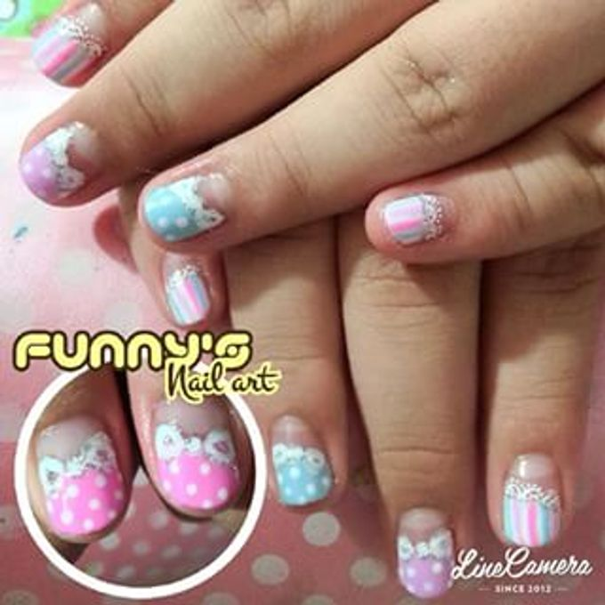 JULY by Funny's Nail art - 009