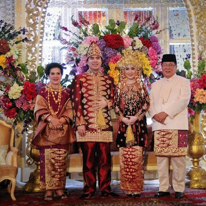 Akad Nikah Tema Palembang by Watie Iskandar Wedding Decoration & Organizer - 001