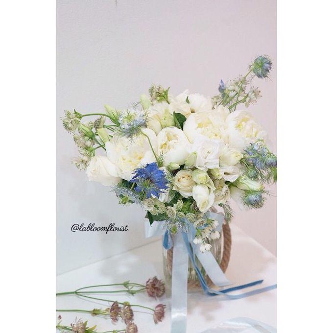 Pinterest inspired bridal bouquet by La Bloom Florist - 012
