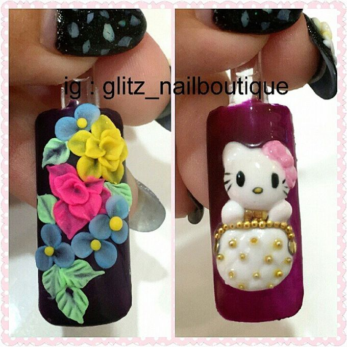 3d nail art by Brows To Toes - 020