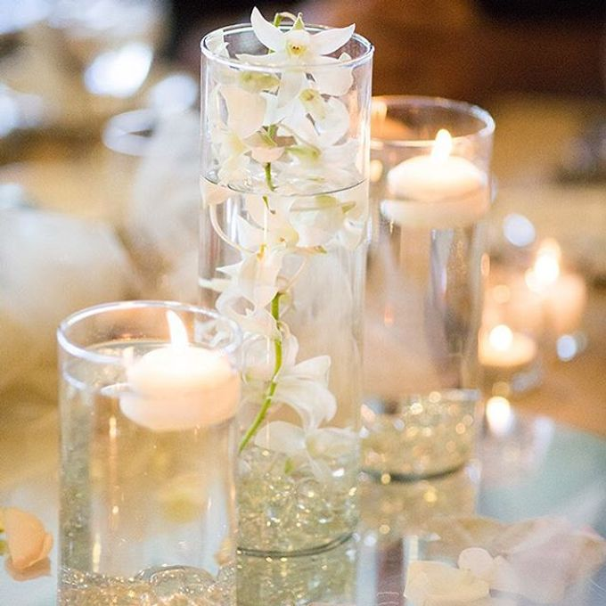 Champagne•Lilac•Plum Wedding Decor by Bella Amour Events Hawaii - 002