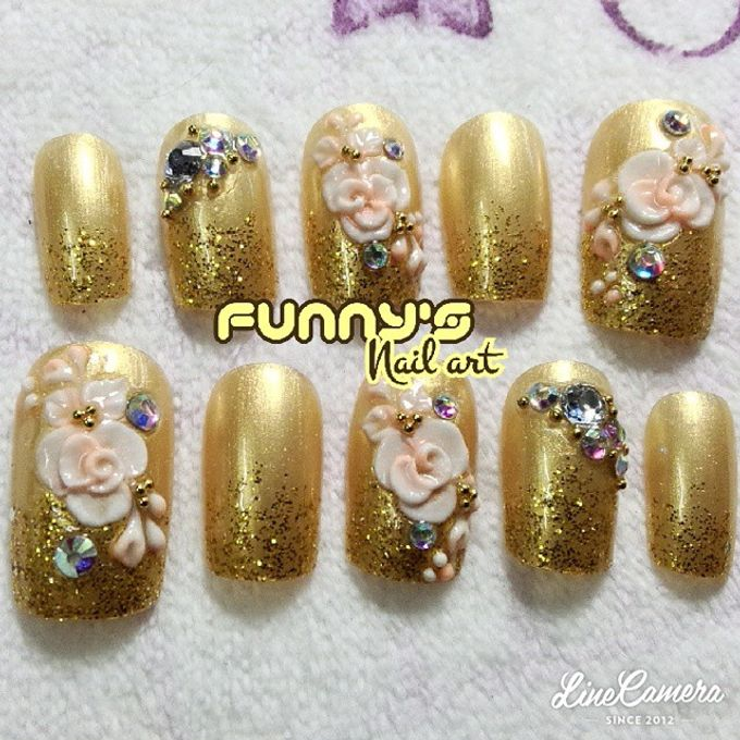 JULY by Funny's Nail art - 004