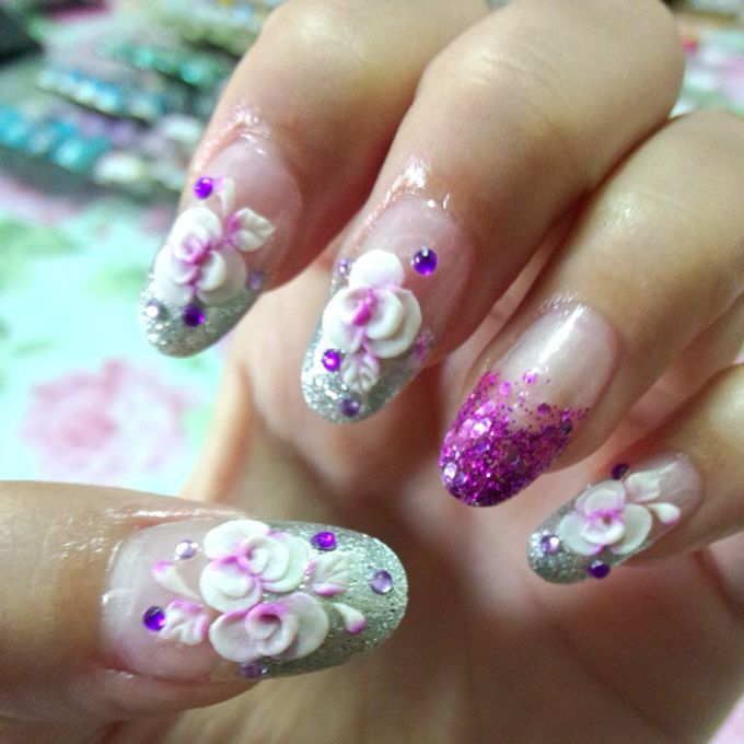 JULY by Funny's Nail art - 001