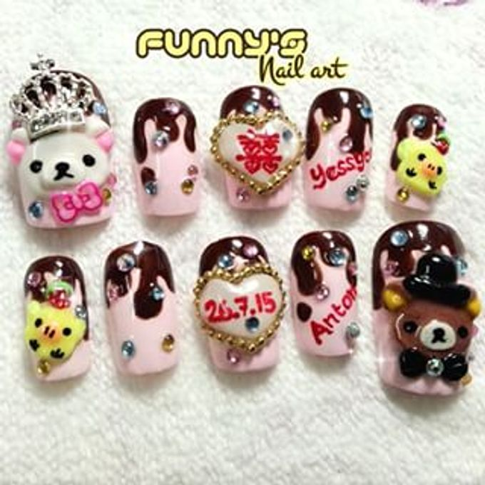 JULY by Funny's Nail art - 010