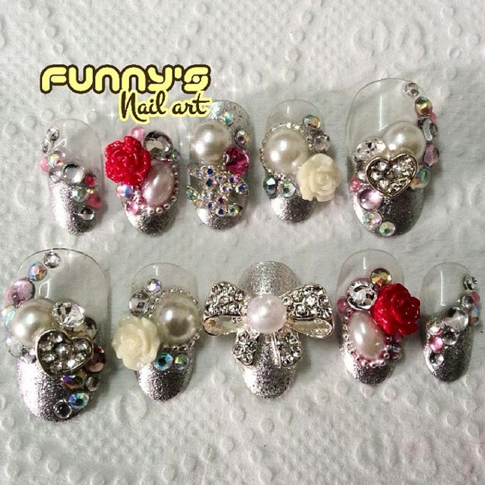 AUGUST by Funny's Nail art - 005
