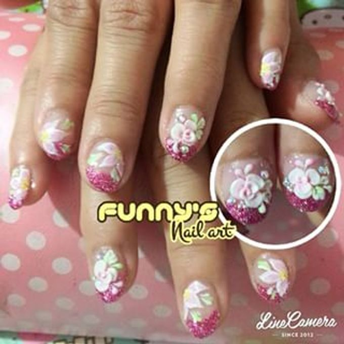 JULY by Funny's Nail art - 011