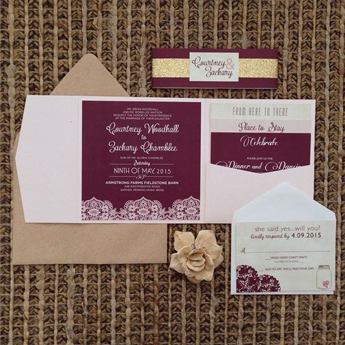 Wedding stationery portfolio  by Hello Beautiful Designs - 020