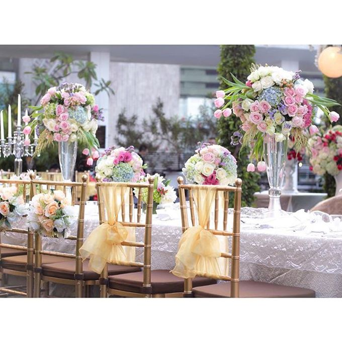 Wedding at Mandarin Oriental by Blooming Elise Flowers - 003
