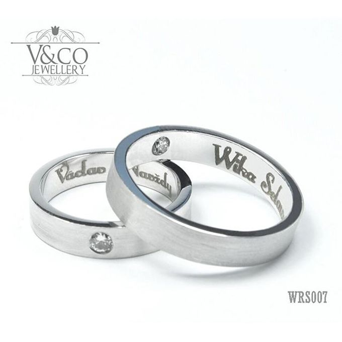 wedding ring simple Design by V&Co Jewellery - 020