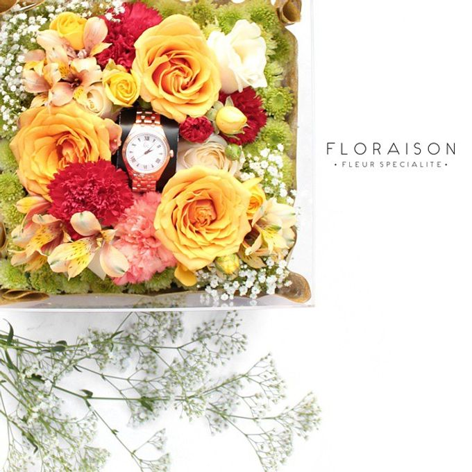 """See me Thru"" Bloom box by Floraison - 012"