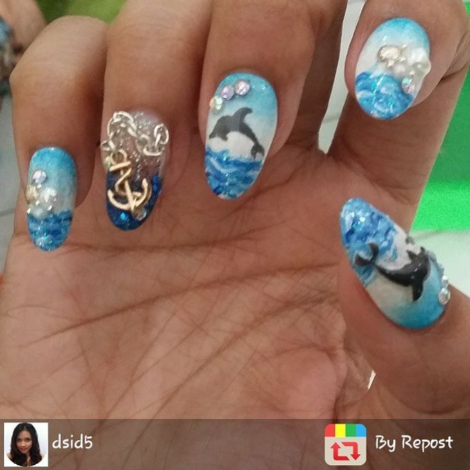 AUGUST by Funny's Nail art - 004