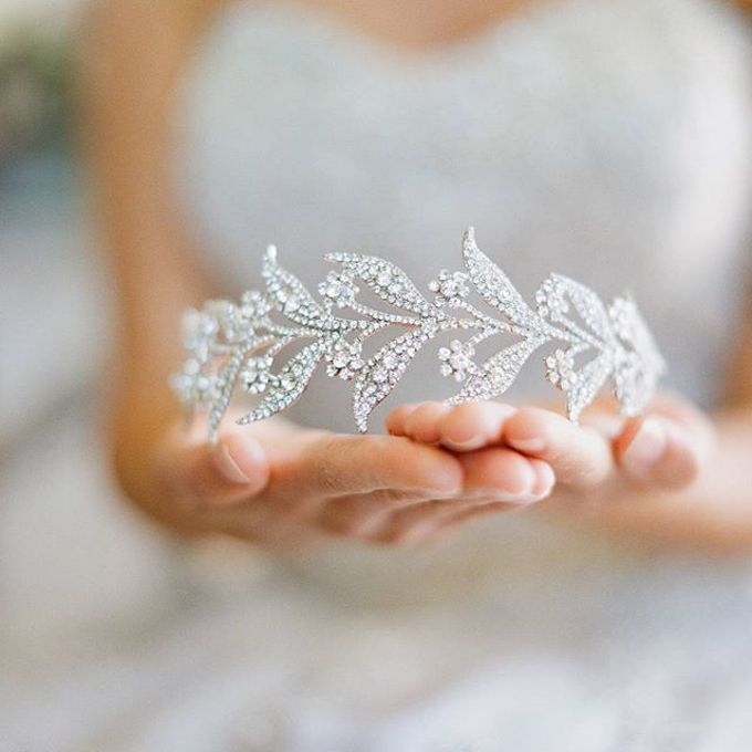 Regal Bridal Crowns and Tiaras and Headpieces by Eden Luxe Bridal - 021