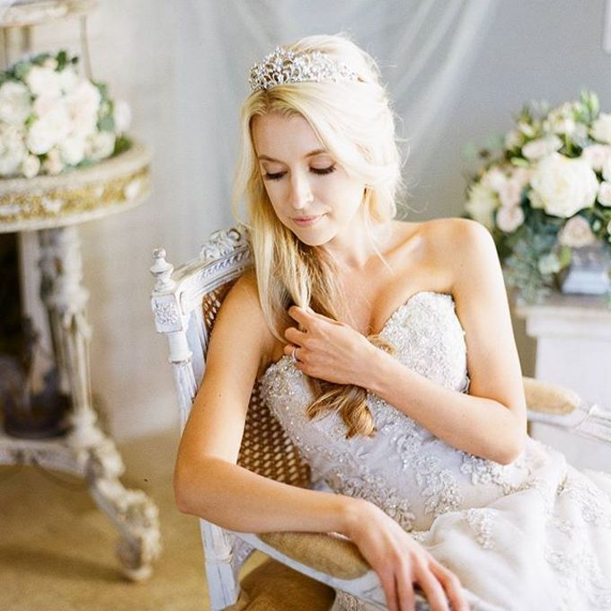 Regal Bridal Crowns and Tiaras and Headpieces by Eden Luxe Bridal - 011