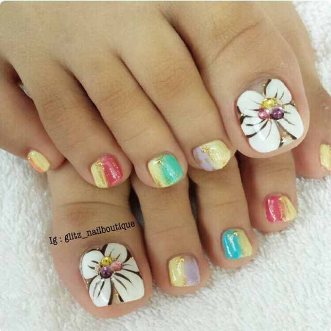 Nail Art Design by Brows To Toes - 012