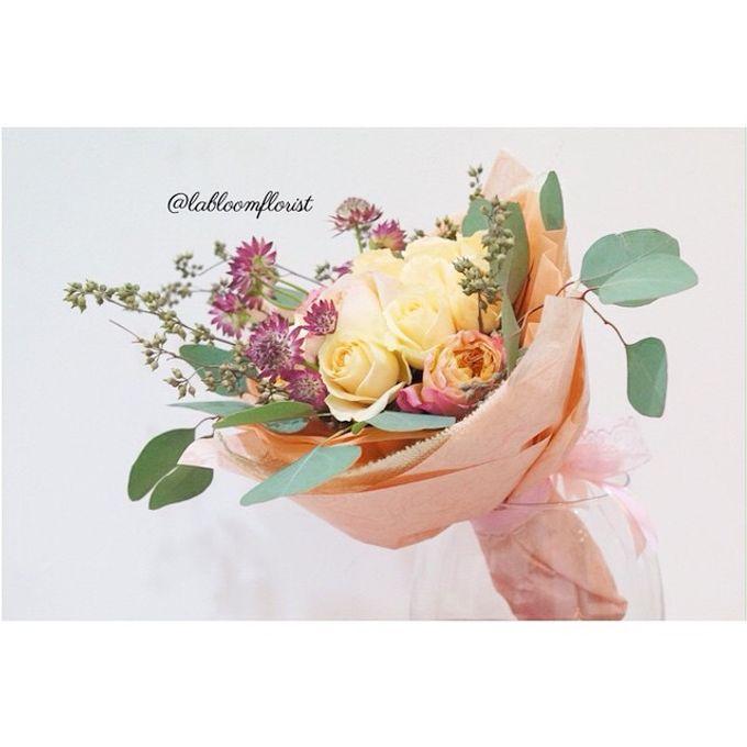 Pinterest inspired bridal bouquet by La Bloom Florist - 003