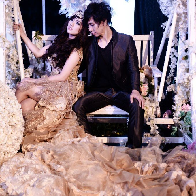 The Wedding of Lukman & Tika by C+ Productions - 036