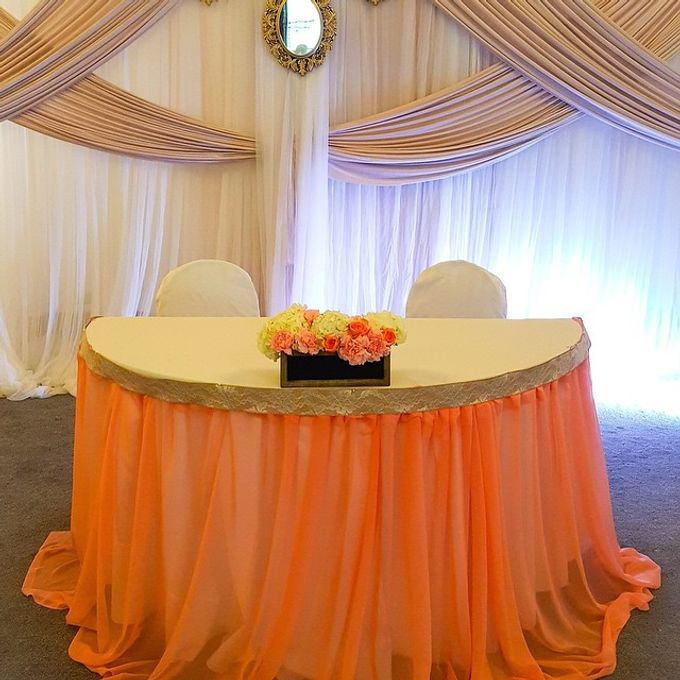 Wedding Reception by Bella Amour Events Hawaii - 006