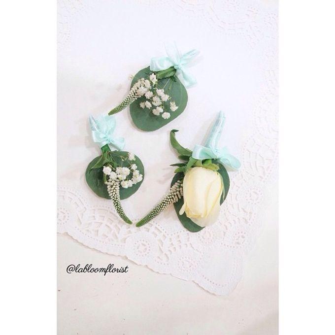 Pinterest inspired bridal bouquet by La Bloom Florist - 005