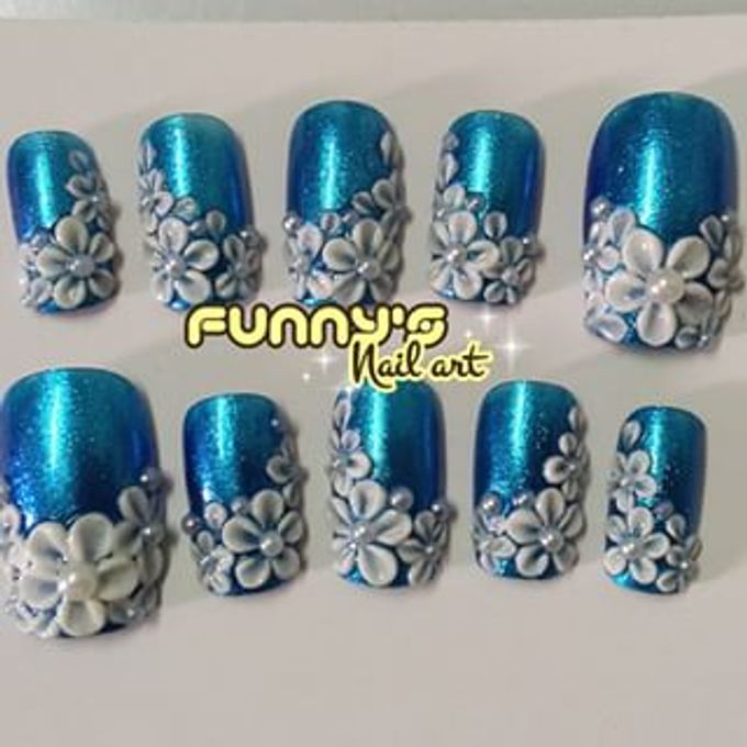 JULY by Funny's Nail art - 012