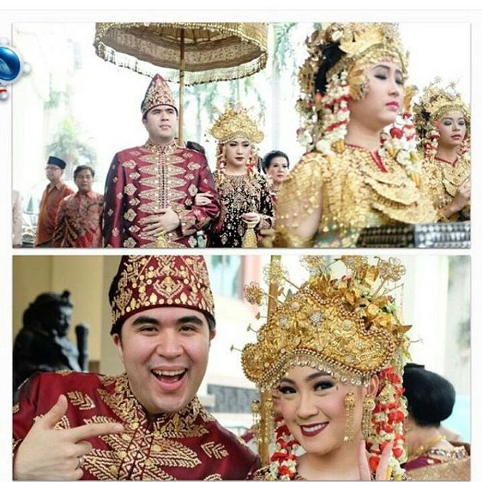 Akad Nikah Tema Palembang by Watie Iskandar Wedding Decoration & Organizer - 007
