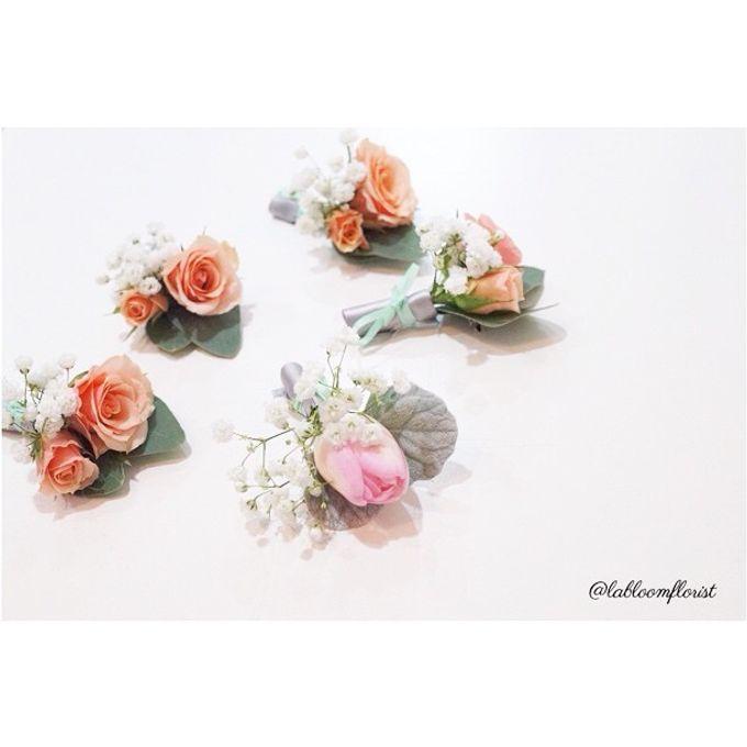 Pinterest inspired bridal bouquet by La Bloom Florist - 013