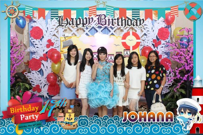 Sweetseventeen Johana Birthday Photobooth by Dinasty Photobooth - 001