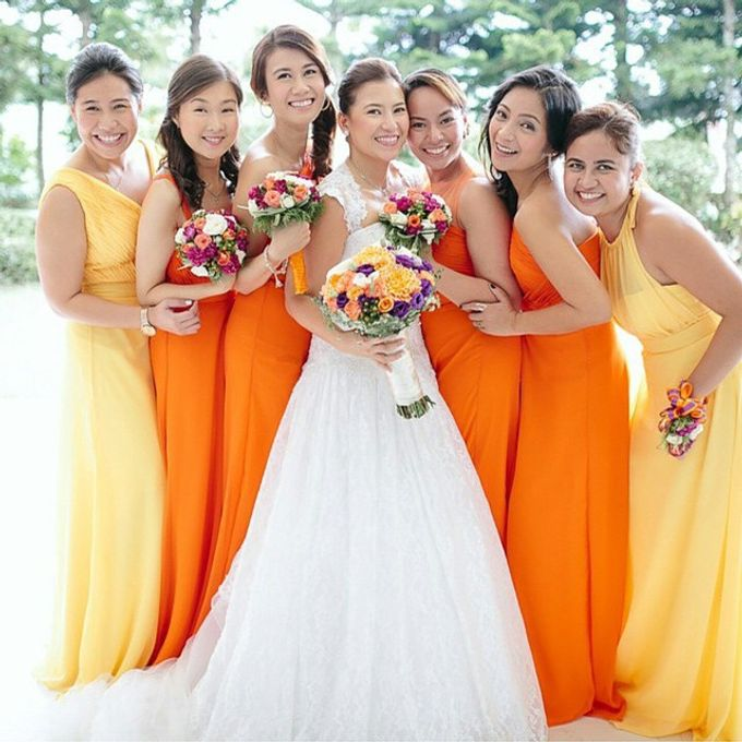 Customized Bridesmaids Dresses by White Label Bridal - 003