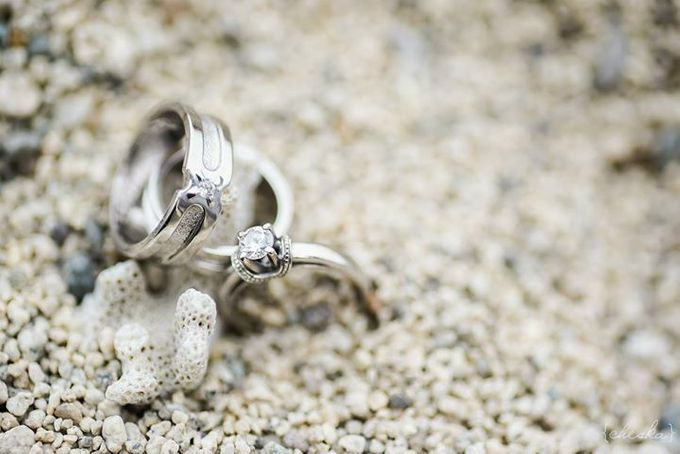 Wedding Rings by Peach Frost Studio - 004