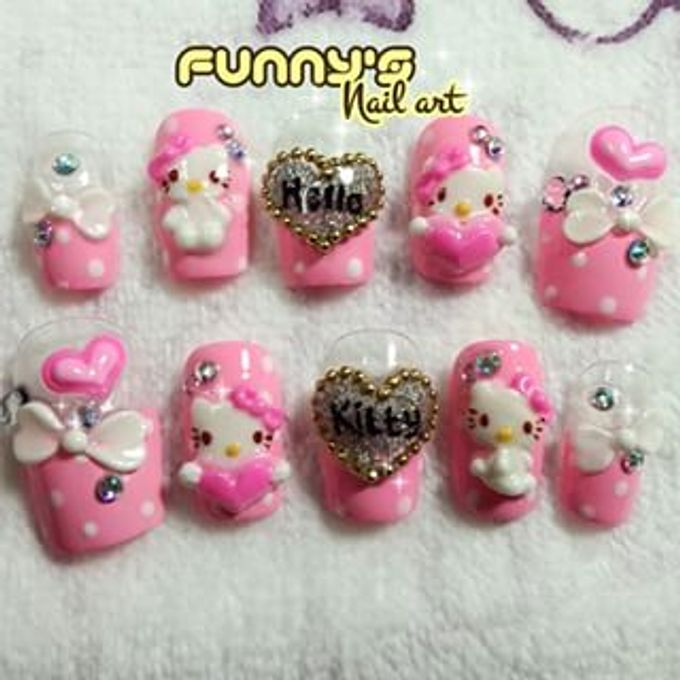 JULY by Funny's Nail art - 013