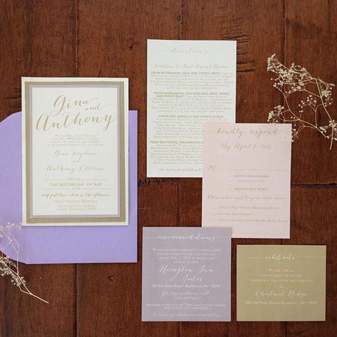Wedding stationery portfolio  by Hello Beautiful Designs - 021