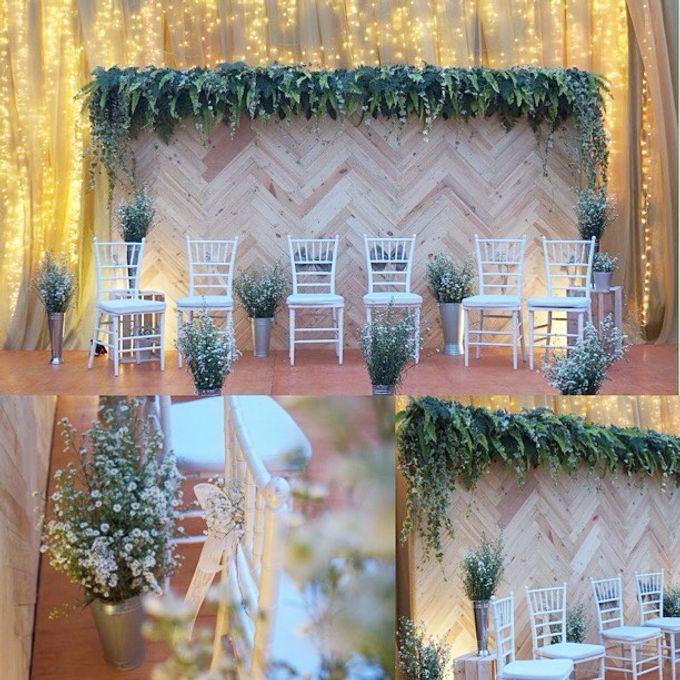 Rustic Wedding by La Bloom Florist - 001