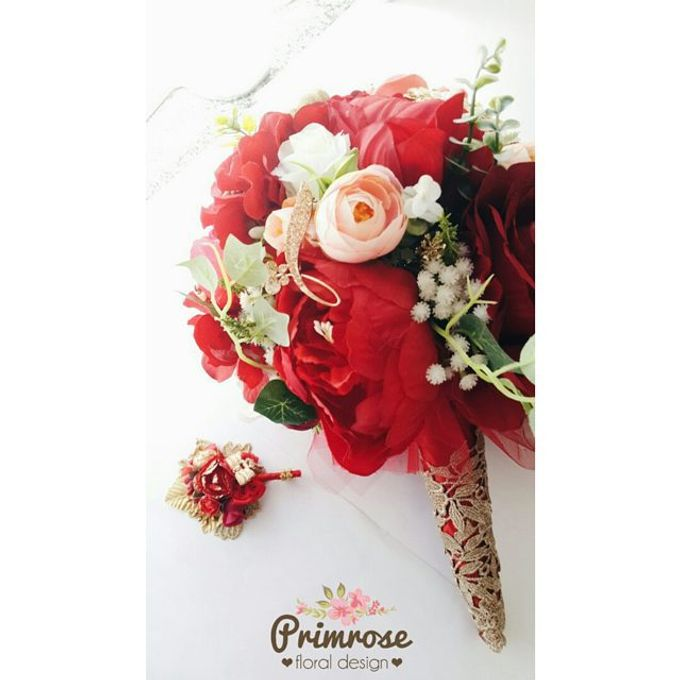 Wedding Bouquet - Handbouquet by Primrose Floral Design - 007