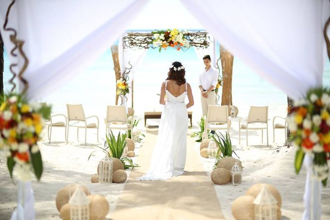 Beach Wedding at The District Boracay by The District Boracay - 009