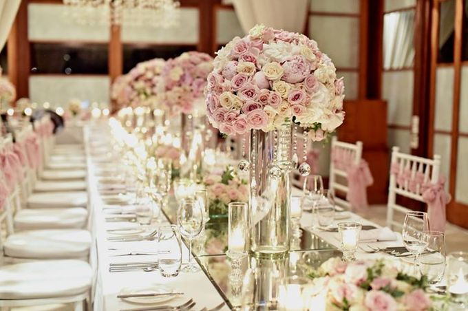 Clifftop chapel wedding decoration in baby pink and white set up by add to board clifftop chapel wedding decoration in baby pink and white set up by marlynproduction junglespirit Gallery