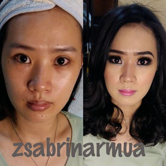 Before after by zsabrinar Makeupartis - 032