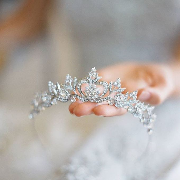 Regal Bridal Crowns and Tiaras and Headpieces by Eden Luxe Bridal - 038