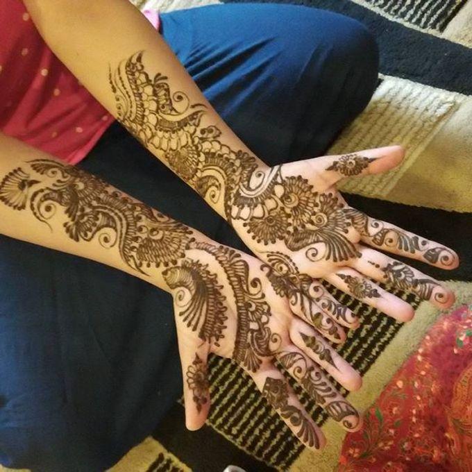 Bridal Henna - Arabic by Nakreze Mehndi - 022
