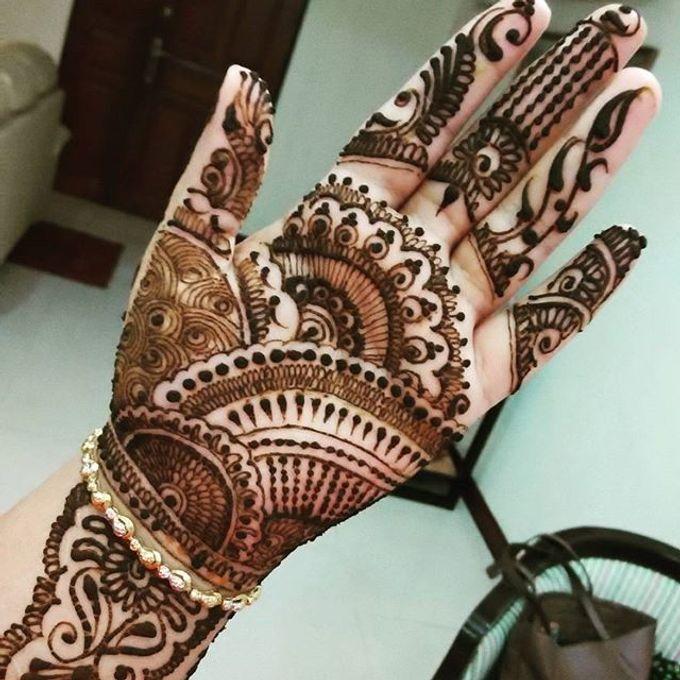 Bridal Henna - Arabic by Nakreze Mehndi - 021