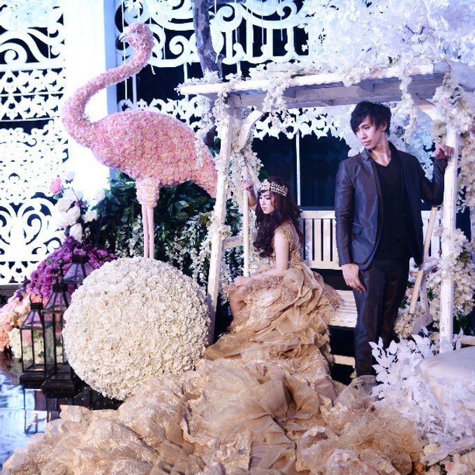 The Wedding of Lukman & Tika by C+ Productions - 034