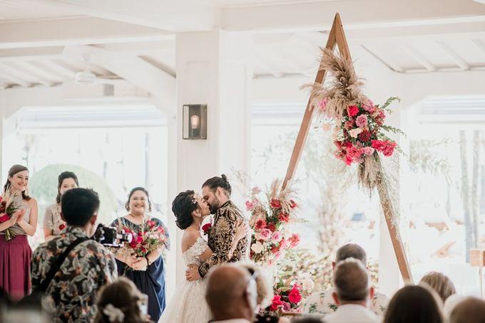 Wedding Niken & Luke by Bali Izatta Wedding Planner & Wedding Florist Decorator - 004