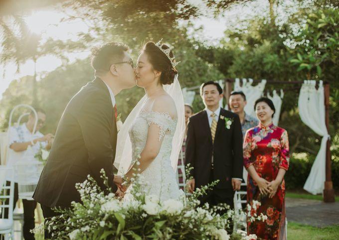 Wei Long Yun & Zhu Yan Lin Wedding by Le Grande Bali Uluwatu - 002