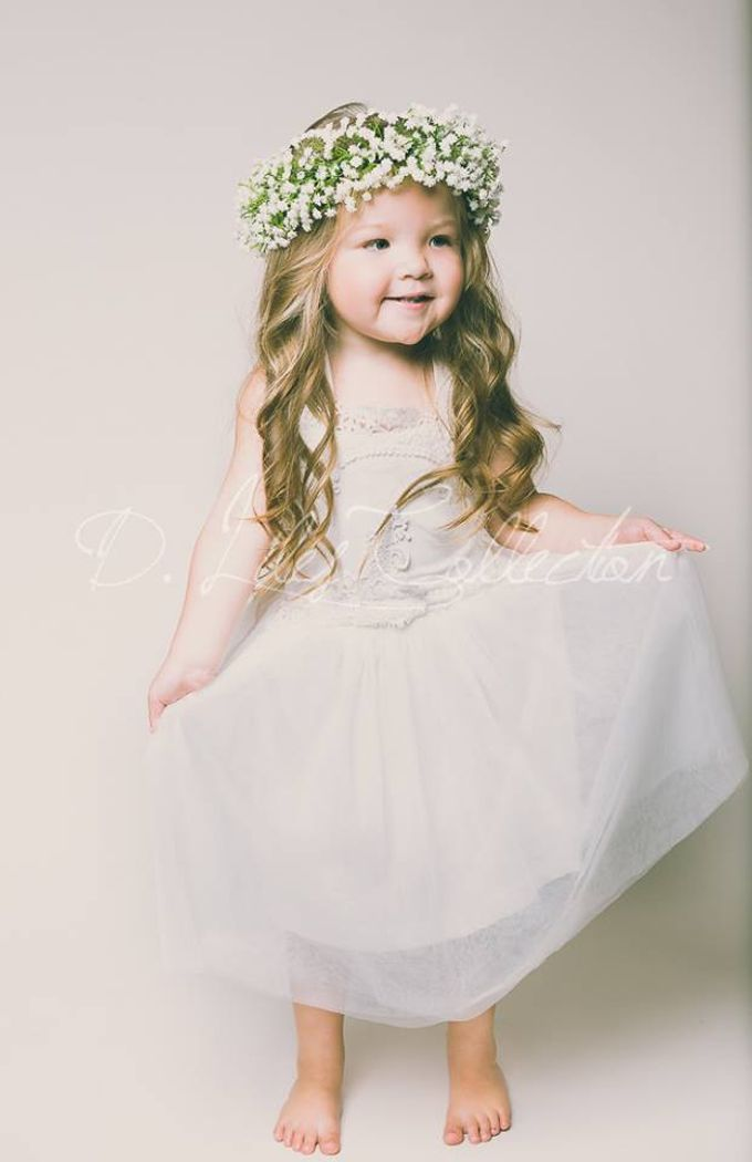 D Liles Collection Flower girl dresses by D. Liles Collection - 030